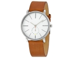 Skagen Hagen Silver Dial Men's Dress Watch SKW6273