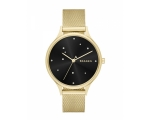 Skagen Women Anita Crystal Accents Gold Tone Wat..