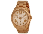 Fossil AM4569 rose gold steel women's Watch
