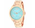 Fossil AM4540 Chronograph Green Dial Rose Gold-t..