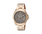 Fossil AM4533 Women's Brown Dial Gold Tone Stain..