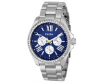 Fossil AM4551 Crystal Bezel Stainless Steel Wome..