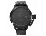 TW Steel Canteen 50 MM Cool Black Quartz Mens Wa..