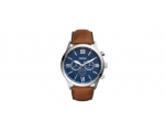 Fossil BQ2125 FLYNN Chronograph Brown Leather Me..