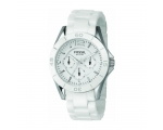 Fossil CE1002 White Ceramic White Dial Ladies Wa..