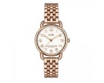 Coach 14502242 Delancey Rose Gold Tone Ladies Wa..