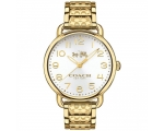 Coach 14502496 Delancey Gold-Tone Ladies Watch
