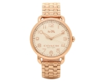 Coach 14502262 Delancey Bracelet Rose Gold Ladie..