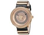 Versace VLC010016 V-metal Icon Gold IP Steel Lad..