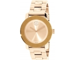 Movado 3600335 Women's 36mm Gold Plated Analog W..