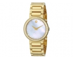 MOVADO 0606422 Concerto Mother of Pearl Gold-pla..