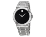 Movado 0606276 Corporate Black Dial Stainless St..