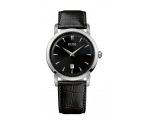 Hugo Boss 1512637 Mens Round Dial Black Leather ..