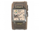 Ed Hardy EDWA-HW Mens Warrior Hollywood Brown Le..