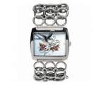 Ed Hardy EDLY-BB Ladies Lynx Blue Bird Bracelet ..