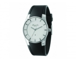 Kenneth Cole KC1556 Mens Black Silicon Strap Whi..