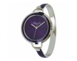 Kenneth Cole KC4684 Ladies Steel Bangle Purple R..