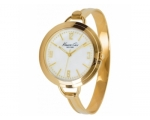 Kenneth Cole KC4681Ladies Gold Plated Steel Bang..