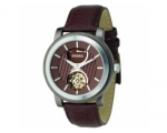 Fossil ME3001 Mens Automatic Brown Dial and Leat..