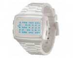 LED   LED-WE-STP Unisex Digital White Dial And P..