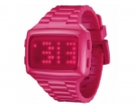 LED   LED-PK-STP Unisex Digital Pink Dial And Pu..