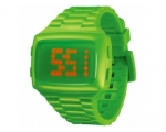 LED   LED-GN-STP Unisex Digital Green Dial And P..