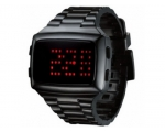 LED   LED-BK-STP Unisex Digital Black Dial And P..