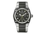Bulova Accutron 65B123 Mens Black Face Corvara W..