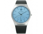 Skagen Men's 668XLSLZI Sports Watch Leather Stee..