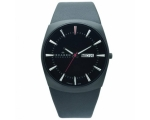 Skagen Men's 696XLTBLB Denmark Leather Black Dia..
