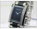 New Versace Ladies Era 70Q Stainless Steel Diamo..