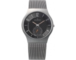 Skagen Denmark Mens Watch Titanium Case-Mesh Men..