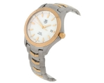 Tag Heuer Link Two-Tone Steel and Gold Mens Watc..
