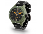 Alessandro Baldieri Black & Green Magnum M48 Watch