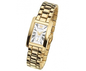Emporio Armani AR0175 Classic Gold Plated Ladies Designer Watch