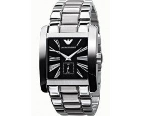 Emporio Armani AR0181 - Mens Classic Stainless Steel Designer Watch