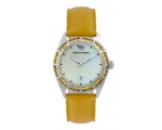 Emporio Armani AR0531 Leather Crystal Ladies Watch