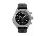 Emporio Armani AR0548 Rubber Gents Chrono Watch