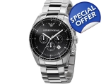 Emporio Armani AR0585 - Mens Stainless Steel Des..
