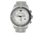 Emporio Armani AR0586 - Mens Stainless Steel Des..
