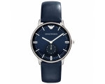Emporio Armani AR1647 Gianni Unisex Blue Leather..