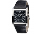 Emporio Armani AR2006 Men's Black Super Slim Watch