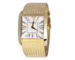 Emporio Armani Gold-Tone Mesh Gents Watch AR2016
