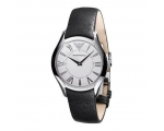 Emporio Armani Men's AR2021 Classic Black Leathe..