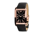 Emporio Armani Watches AR2034 Mens Super Slim Bl..