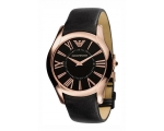 Emporio Armani Watches AR2043 Mens Super Slim Bl..
