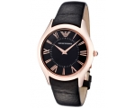Emporio Armani Watches AR2044 Mens Super Slim Bl..