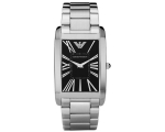 Emporio Armani Watches AR2053 Mens Super Slim Bl..