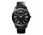 Emporio Armani Men's Ar2059 Superslim Black Dial..