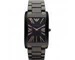 Emporio Armani AR2064 Black Ion Ladies Black IP ..